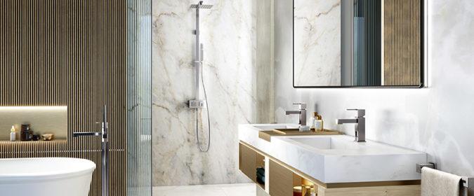 Photo d'ambiance du mitigeur lavabo Myriad