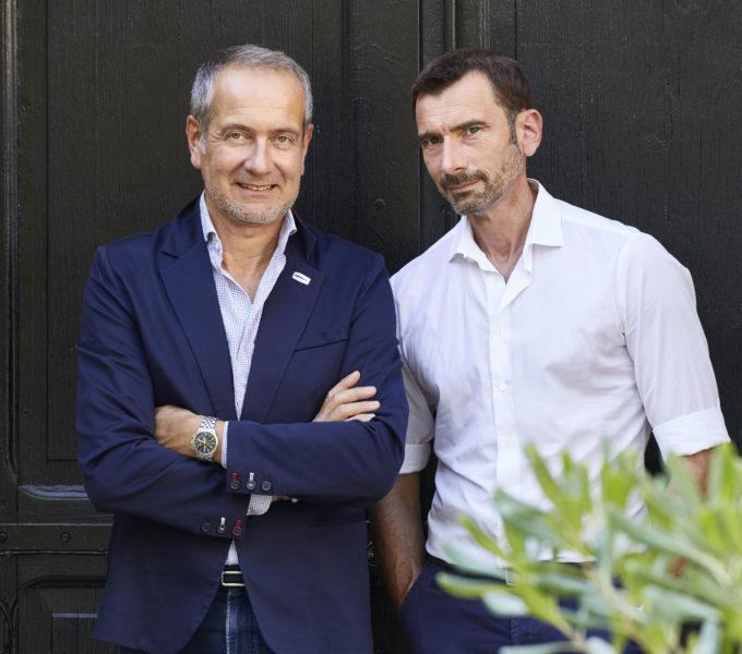 (image) photo Portrait de Marc Hertrich et Nicolas Adnet du studio MHNA