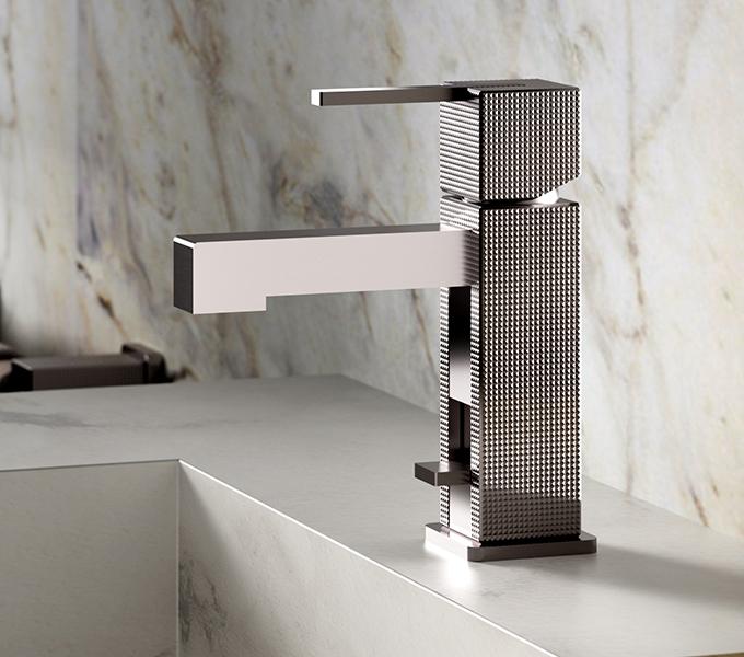 (image) mitigeur de lavabo Myriad en finition Chrome
