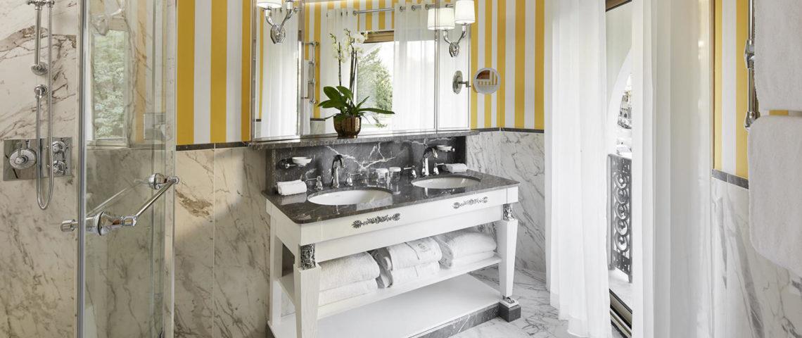 (image) des robinetteries Horus de gamme Ascott équipent les salles de bains du Negresco