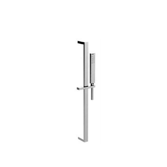 (image) Rail de douche, douchette en laiton et flexible Echo