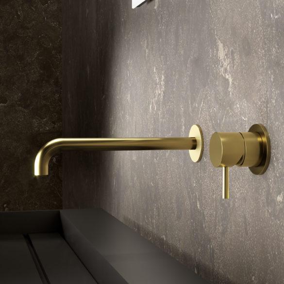 Photo du mitigeur lavabo mural à encastrer Equinox316 maison française de robinetterie Horus