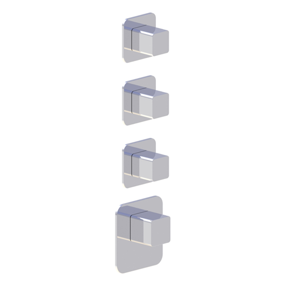 (image) Habillage pour box mitigeur thermostatique