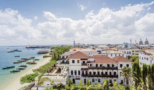 (image) Façade du Park Hyatt à Zanzibar