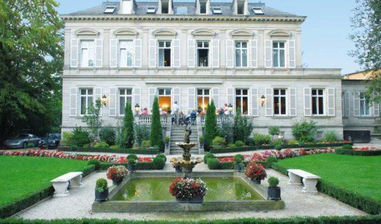 (image) Façade de l'hôtel Belle Epoque à Baden Baden