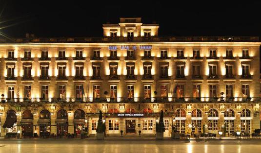 (image) Façade de l'hôtel Intercontinental de Bordeaux