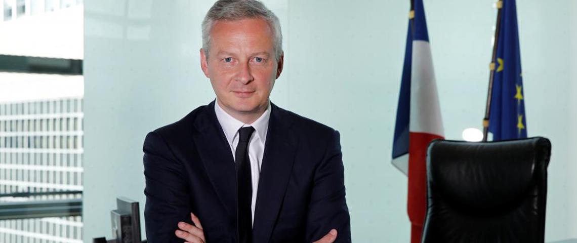 (image) photo portrait de Bruno Le Maire, Ministre de l'économie et des finances