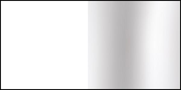 (image) aperçu de la finition blanc chrome