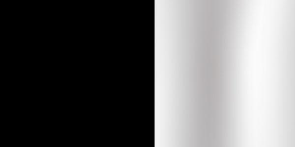 (image) aperçu de la finition noir chrome
