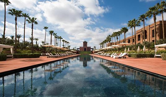 (image) Façade de l'hôtel Selman à Marrakech