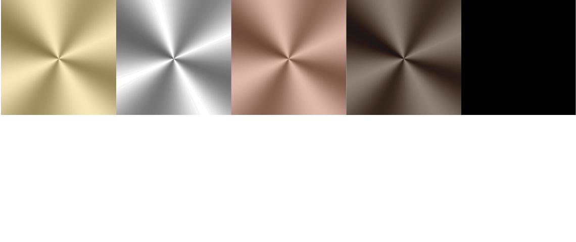 (image) visuels des 5 finitions décoratives Horus