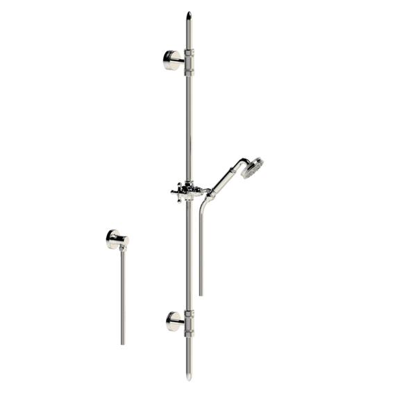 Réf 16 532 Sortie douche rail, flexible et douchette