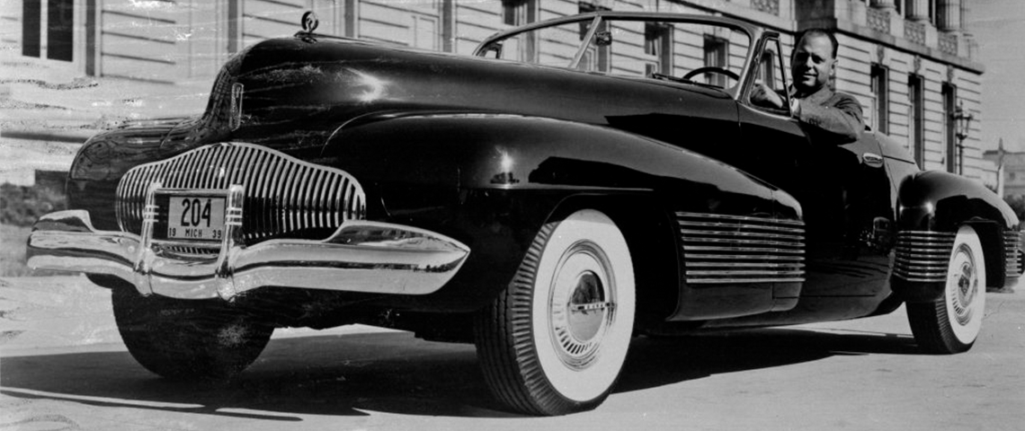 (photo) La Buick Y-Job , le premier concept-car