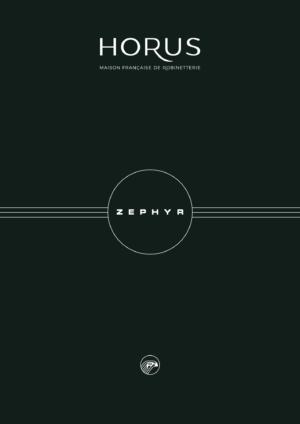Catalogue de la collection Zephyr